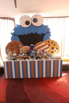 Sesame Street Birthday Party By Dream Flavours Celebrations