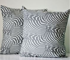 Marimekko Pillow Covers (Grey)