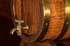Ever wonder where sour beer originated, how it's brewed, or how to properly store and serve it? Check out this post to learn everything you need to know about sour beer. Whisky, The Iron Bull, Brass Tap, Old Pub, Wood Images, Bourbon Barrel, Alcohol, Bar Accessories, Beer Lovers