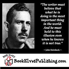 John Steinbeck on writing.