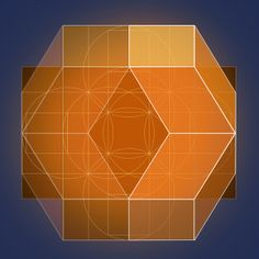 Golden Rhombic Triacontahedron by GeometerArtist, via Flickr