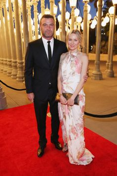 LACMA Turns 50 - Naomi Watts and Liev Schrieber