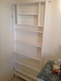 Kitchen, behind my door, 12 centimeters deep pantry (1/3)