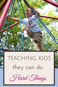 Raising Resilient Children - 4 Tips for Teaching Kids They Can Do Hard Thing | Musing Momma