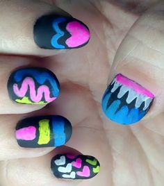 Schoolbord nail art - Vrouwen.nl
