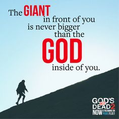 God is bigger than all of your problems. Beloved Movie, Inspirational Movies, Cancer Quotes, Gods Not Dead, 2 Movie, Faith In God, Movie Trailers, This Or That Questions, Words