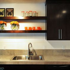Portland Home Floating Shelves Design, Pictures, Remodel, Decor and Ideas