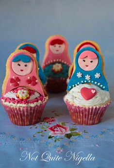 Gorgeous Babushka cupcakes!!!