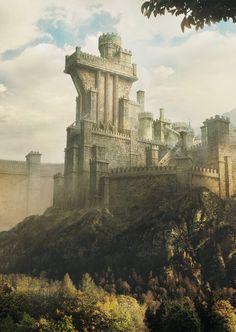 Ancient Walled Kingdom by Aaron Mcnaughton