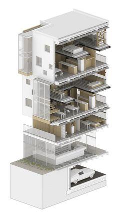 https://flic.kr/p/r19GXk | Vivienda Colectiva - Detalle constructivo- Proyectos 8 | - Universidad Nacional de Colombia. - Facultad de arquitectura.