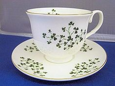 Fine Bone China. Made in England by Crown Trent. Trimmed in 24K Gold. Hand decorated. Hand wash only.