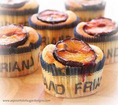Plum Friands | Gluten Free Recipe
