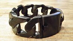 Armband XL black Gematteerd 23 cm x 3 cm €55,00