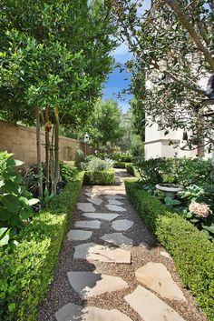 side yard walkway