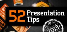 52 Presentation Tips from SOAP - State of the Art Presentations