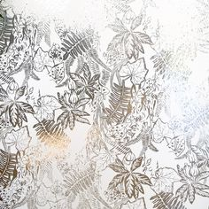 We just love this print for its beautiful and detailed design. Yet another piece that feeds the imaginative mind. From the Tim Burton-esque Silver Timorous Beasties, Hothouse, Metallic Wallpaper, Designers Guild, To Color, Manila, Brown And Grey, Prints, Silver