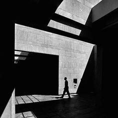 """Lebanese photographer Serge Najjar's series """"The Architecture of Light"""" explores the natural illumination of buildings around his native Beirut. His high-contrast black and white photos focus. High Contrast Photography, Dark Room Photography, Abstract Photography, Street Photography, Shape Photography, Building Photography, Minimalist Photography, Urban Photography, Artistic Photography"""