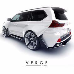 Cars Discover Lexus body kit VERGE soon will begin selling Lexus Gx 460, Lexus Lx570, Lexus Cars, Suv Trucks, Suv Cars, Toyota Land Cruiser Prado, Best Luxury Cars, Toyota Cars, Performance Cars