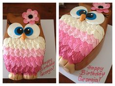 Georgia's 9th birthday party cake.  We combined a few ideas here for the baker to interpret as their own.  Art's Bakery in Glendale, CA did an incredible job!!!  The inside was incredible too!!