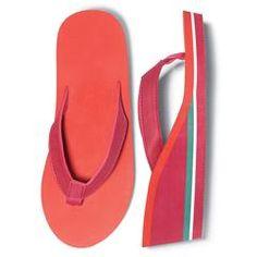 Tropical Colorful Flip-Flop