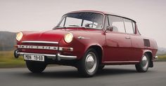 http://chicerman.com  carsthatnevermadeit:  Škoda MBX 1966. A 2 door pillarless version of the rear-engined Škoda 1000 MB which was produced in limited numbers  #cars