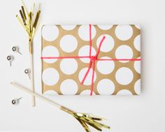 Gift Wrap - Polka Dots-gift wrap, polka dots, wrapping paper