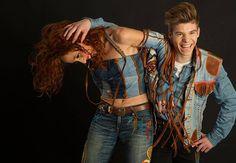 Shooting photo de la marque Jeans' & Blue #mode #creation #createur #sunrunfilms #jeffrivera #sunrun #jean #creation #textile #jean
