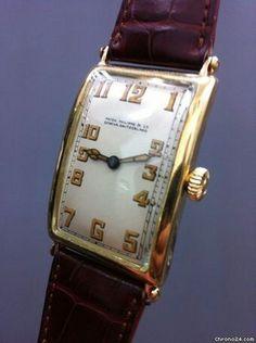 Patek Philippe Vintage Oversized JUMBO 18K Gold GONDOLO 1920