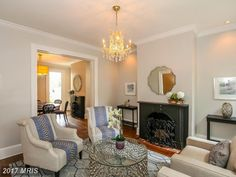 1415 33rd St Nw, Washington DC: 4 bedroom, 5 bathroom Townhouse/Villa residence built in 1850.  See photos and more homes for sale at https://www.bhgre.com/property/1415-33RD-ST-NW-WASHINGTON-DC-20007/15480632/detail?utm_source=pinterest