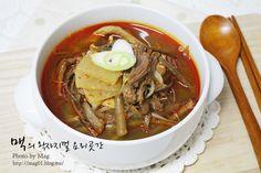 Spicy Beef Soup (YukGaeJang, 육계장)