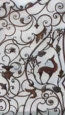 anciennes grilles portes fer forgé italien old wrought iron artwork gates Italy