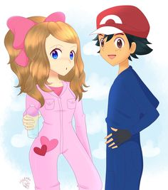 Leave it to Serena! by lilidoodle on DeviantArt Pokemon Ash And Serena, Ash Pokemon, Ash Ketchum, Vanellope, Pokemon Pictures, Cute Couples, Cool Pictures, Disney Characters, Fictional Characters