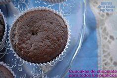 Cupcakes de chocolate para todos los públicos