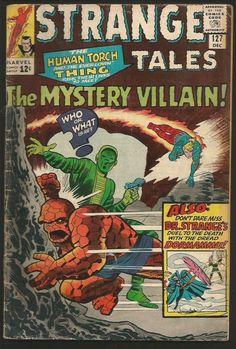 Strange Tales #127 DR. STRANGE Marvel Comics DITKO 1964 Thing & Torch