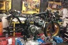 Honda CB500 Rothmans Bike