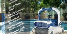 Aquabot Elite pool cleaner is one of the hot items on the market at this time because of its superior design and lots of amazing features. Pool Cleaning Service, Pool Service, Best Robotic Pool Cleaner, Swimming Pool Cleaners, Pool Construction, Pool Maintenance, Pool Water, Family Fitness, Pools