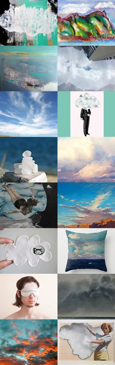 Into the Clouds by 3buu on Etsy--Pinned with TreasuryPin.com