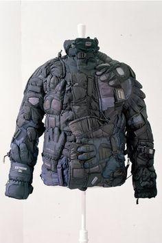"fakemargiela: ""Jacket made of gloves from Maison Martin Margiela Artisanal coutre, Fall 2006 """