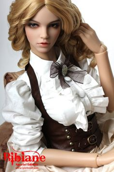 Amazing Japanese BJD doll (ball-jointed) Steampunk!!