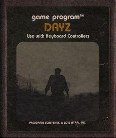 DayZ (Atari cartridge style) by ~StarRoivas on deviantART