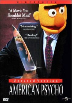 The Muppets: American Psycho Sesame Street Memes, Sesame Street Muppets, Sesame Street Characters, American Psycho Poster, Drunk Disney, Iphone Wallpaper Music, Muppets Most Wanted, Emoji Love, Dark Humour Memes