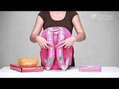Jak nosić plecak szkolny? Jakie rozwiązania techniczne mają plecaki Topgal? Zainspiruj się i zobacz na przykładzie plecaka CHI 651  :-)