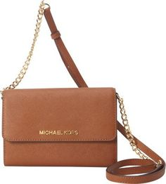 MICHAEL Michael Kors Jet Set Large Phone Crossbody Luggage - via eBags.com!