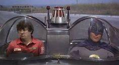 Jason Dufner in the Batmobile