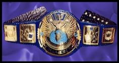 wwf championship belt block logo big eagle (in between winged eagles and attitude era belts)