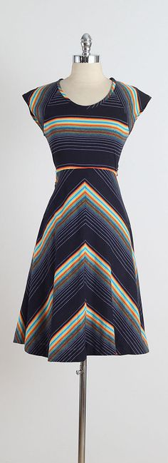 Prismacolor . vintage 80s dress . vintage by millstreetvintage