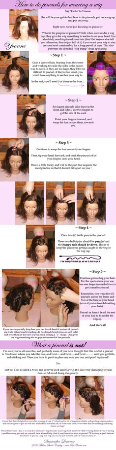 This is the best tutorial for wigs that I've seen! Definately need to practice this at home before the next Con