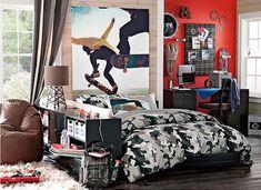Tween Rooms for Boys | Contemporary Kids design by Calgary Interior Designer Wendinteriors