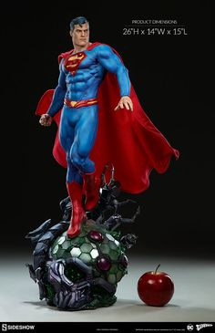 The Superman Premium Format™ Figure Soars into Your Collection!   Sideshow Collectibles