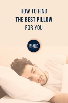 The right pillow is essential to our quality of sleep. Read on to find out what different pillows are made from, and which one is best for you. Saline Nasal Spray, Sleep Quotes, Sleep Remedies, Sleep Problems, Self Talk, Best Pillow, Sleep Deprivation, Neck Pain, Snoring